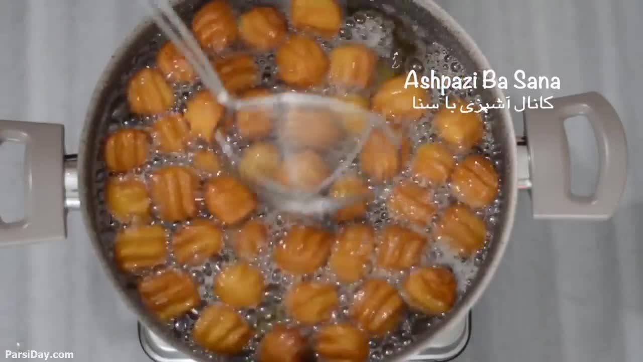 طرز تهیه بامیه ایرانی به روش قنادی ها