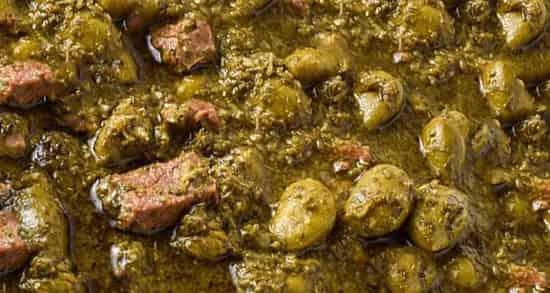 آموزش دستور پخت و طرز تهیه خورش چغاله بادام خوشمزه و مجلسی