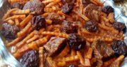 طرز تهیه خورش هویج خوشمزه و مجلسی اصیل تبریزی با مرغ و گوشت