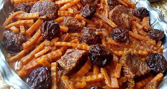 طرز تهیه خورش هویج تبریزی , خورش هویج با مرغ , خورشت هویج و آلو , o va i d , khoresh havij
