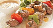 طرز تهیه کباب گوشت شتر مرغ حرفه ای خوشمزه و مجلسی با سس