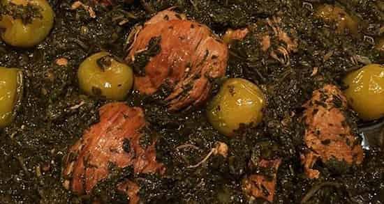طرز تهیه خورش گوجه سبز , خورش آلو سبز , خورش گوجه سبز , خورشت گوجه سبز , khoresh gojeh sabz
