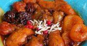 طرز تهیه خورش متن جن یا مطنجن مجلسی شمالی با مرغ و گوشت