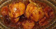 طرز تهیه خورش آلو مسما خوشمزه و مجلسی شمالی با گوشت مرغ