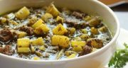 طرز تهیه خورش ریواس آسان خوشمزه و مجلسی با لپه ، گوشت و مرغ