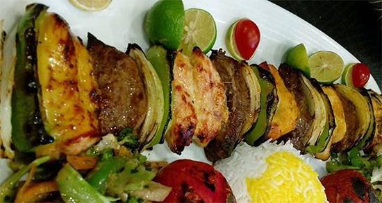 طرز تهیه کباب قفقازی رستورانی , کباب قفقازی در منزل , FHF RTRHCD , kabab ghafghazi