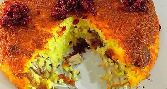 طرز تهیه ته چین مرغ خوشمزه و مجلسی با روش پخت در فر و قابلمه