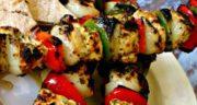 طرز تهیه جوجه کباب یونانی یا کباب مرغ یونانی خوشمزه و مجلسی
