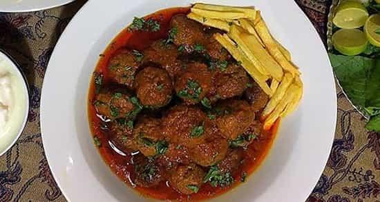 طرز تهیه کوفته قلقلی تبریزی خوشمزه با گوشت چرخ کرده