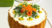 طرز تهیه کیک مرغ ساده خوشمزه و مجلسی با گردو و نان تست