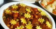 طرز تهیه ارومیه خورش اصل مجلسی و خوشمزه با لوبیا چیتی