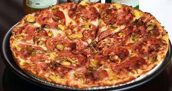 طرز تهیه پیتزا پپرونی خوشمزه و رستورانی مخصوص اصل ایتالیایی