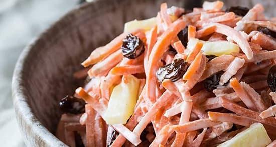 سالاد هویج , کالری سالاد هویج , طرز تهیه سالاد هویج , shghn i d