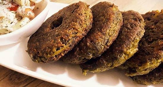 طرز تهیه شامی سبزی , دستور پخت شامی سبزی بابلی , ahld sfcd