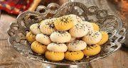 طرز تهیه نان برنجی کرمانشاهی حرفه ای و خوشمزه زعفرانی خانگی