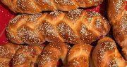 طرز تهیه نان شیرمال ساده و سنتی خوشمزه و خانگی ترکی