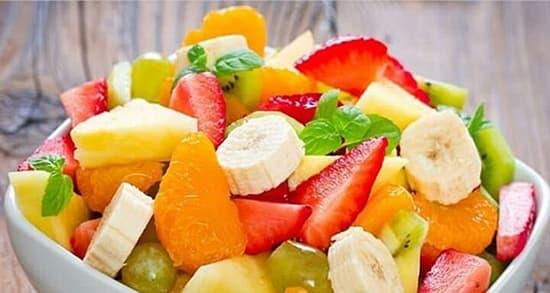 طرز تهیه سالاد میوه تابستانی و پاییزی , دستور سالاد میوه زمستانی و بهاری , xvc jidi shghn ld,i