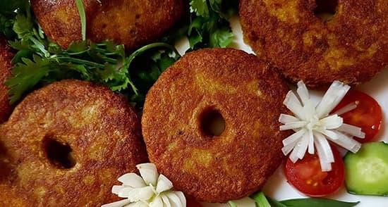 طرز تهیه شامی لپه خوشمزه و مجلسی رشتی با گوشت چرخ کرده