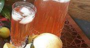 طرز تهیه شربت به لیمو خانگی خوشمزه با برگ به لیمو در منزل