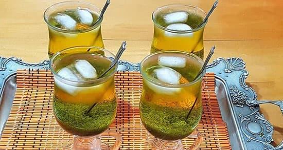 طرز تهیه شربت تخم شربتی با زعفران , دستور شربت تخمه شربت , xvc jidi avfj jol avfjd