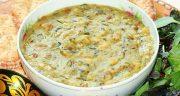 طرز تهیه آش آبادانی اصل خوشمزه اصیل آبادان برای صبحانه