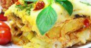 طرز تهیه گراتن مرغ و سیب زمینی خوشمزه و مجلسی با سس مخصوص