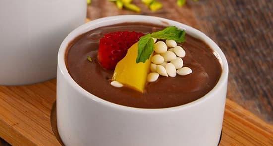 طرز تهیه فرنی شکلاتی کاکائویی , دستور پخت فرنی شکلاتی , xvc jidi tvkd a ghjd