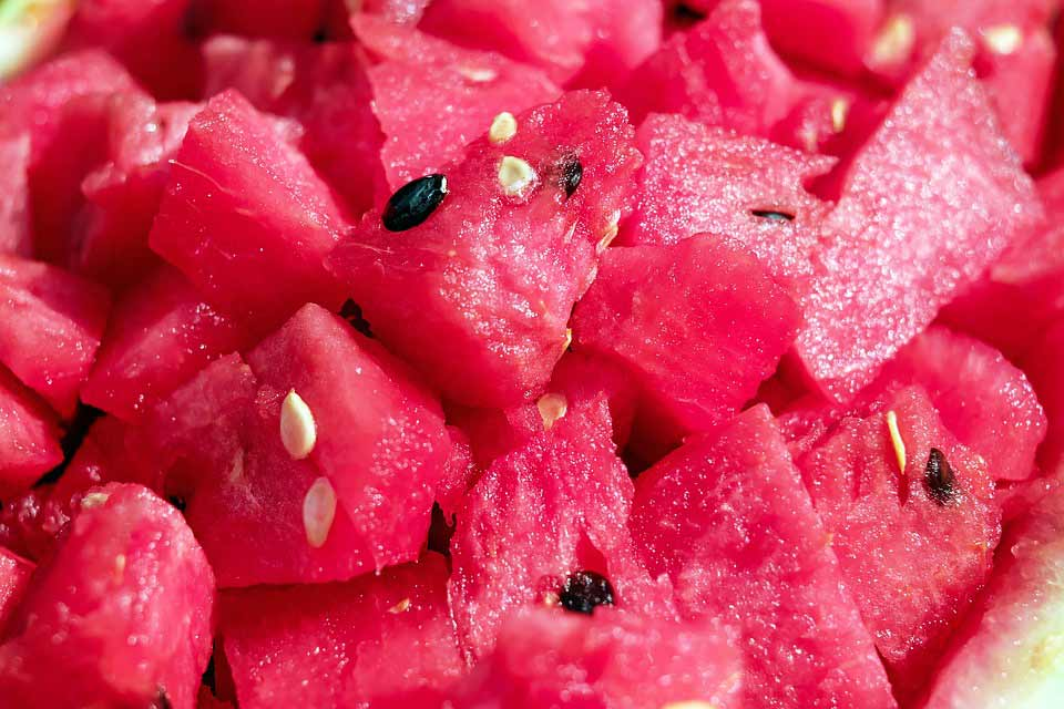 طرز تهیه اسموتی پروتئینی هندوانه
