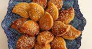 طرز تهیه نان چای قزوین خوشمزه و مجلسی به روش اصیل و سنتی