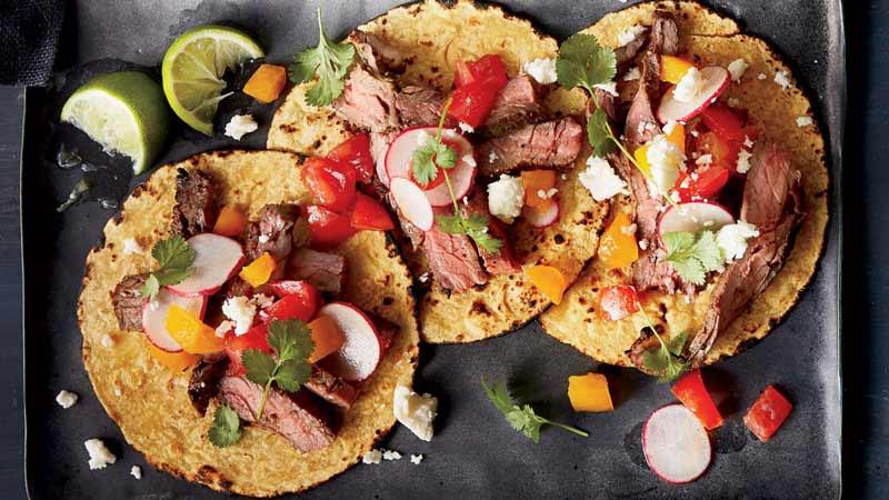 طرز تهیه تاکوی استیک، غذای سالم و خوشمزه