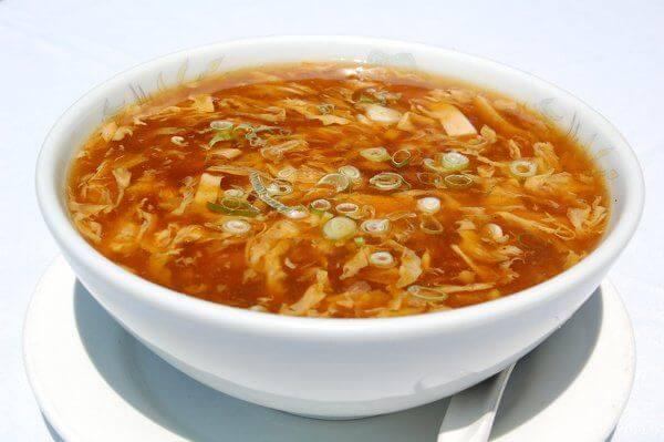 سوپ کلم تند و ترش