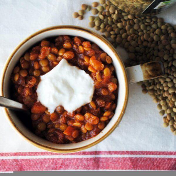 طرز تهیه سوپ عدس، زنجبیل و گوجه فرنگی