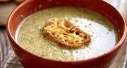 طرز تهیه سوپ بروکلی با پنیر چدار