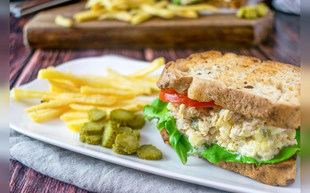 خوشمزه ترین طرز تهیه ساندویچ تن ماهی