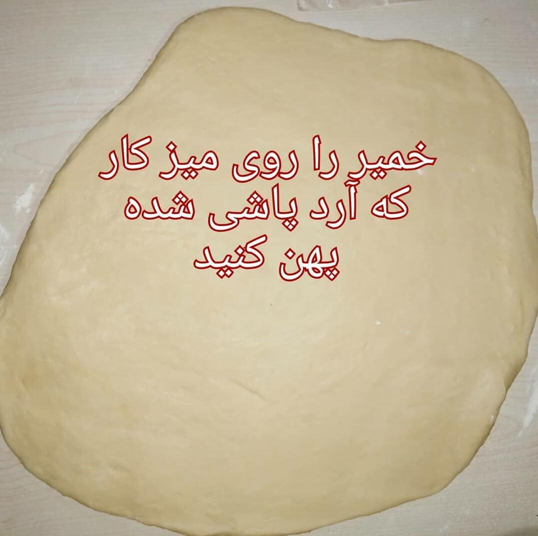 دستور پخت شیرینی گل محمدی