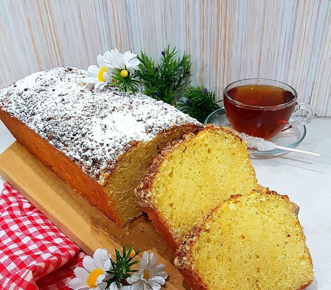 مواد لازم برای تهیه کیک ماست