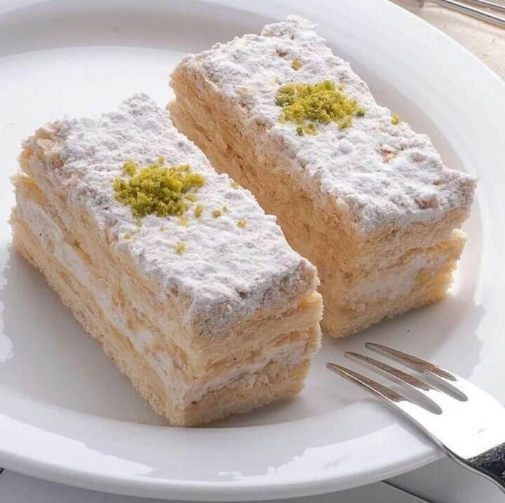 طرز تهیه شیرینی ناپلئونی خانگی مجلسی و خوشمزه