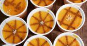 طرز تهیه شله زرد نذری برای 20، 50 و 200 نفر با میزان دقیق مواد اولیه و نکات آن