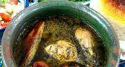 طرز تهیهخورش ترش واشگیلانی خوش عطر و طعم با مرغ