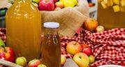 طرز تهیه سرکه سیب خانگی به روش سنتی مرحله به مرحله