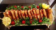 طرز تهیه سمبوسه مرغ و قارچ خوشمزه و مجلسی با نان لواش