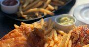 طرز تهیه فیش اند چیپس رستورانی با دلستر به سبک انگلیسی