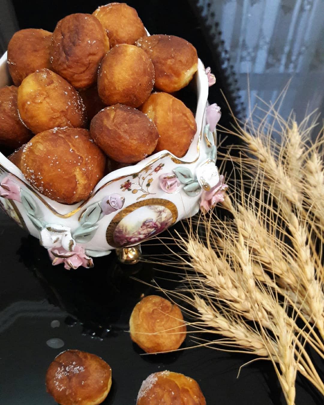 طرز تهیه نان اردک (اگردک) خوشمزه در منزل به روش محلی