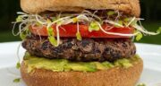 طرز تهیه همبرگر گیاهی (همبرگر وگان) خانگی با لوبیا سفید با طعمی بی نظیر