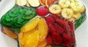 طرز تهیه ژله میوه ای شیک و مجلسی با پودر ژله، ژلاتین و میوه های فصل