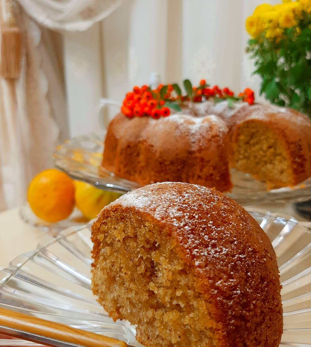 طرز تهیه کیک یک تخم مرغی ساده و خوشمزه و پف زیاد با یک لیوان آرد