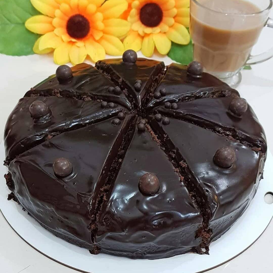 دستور پخت کیک خیس شکلاتی