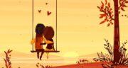 جملات و متن عاشقانه شاد کوتاه، بلند و پاییزی برای همسر و پروفایل