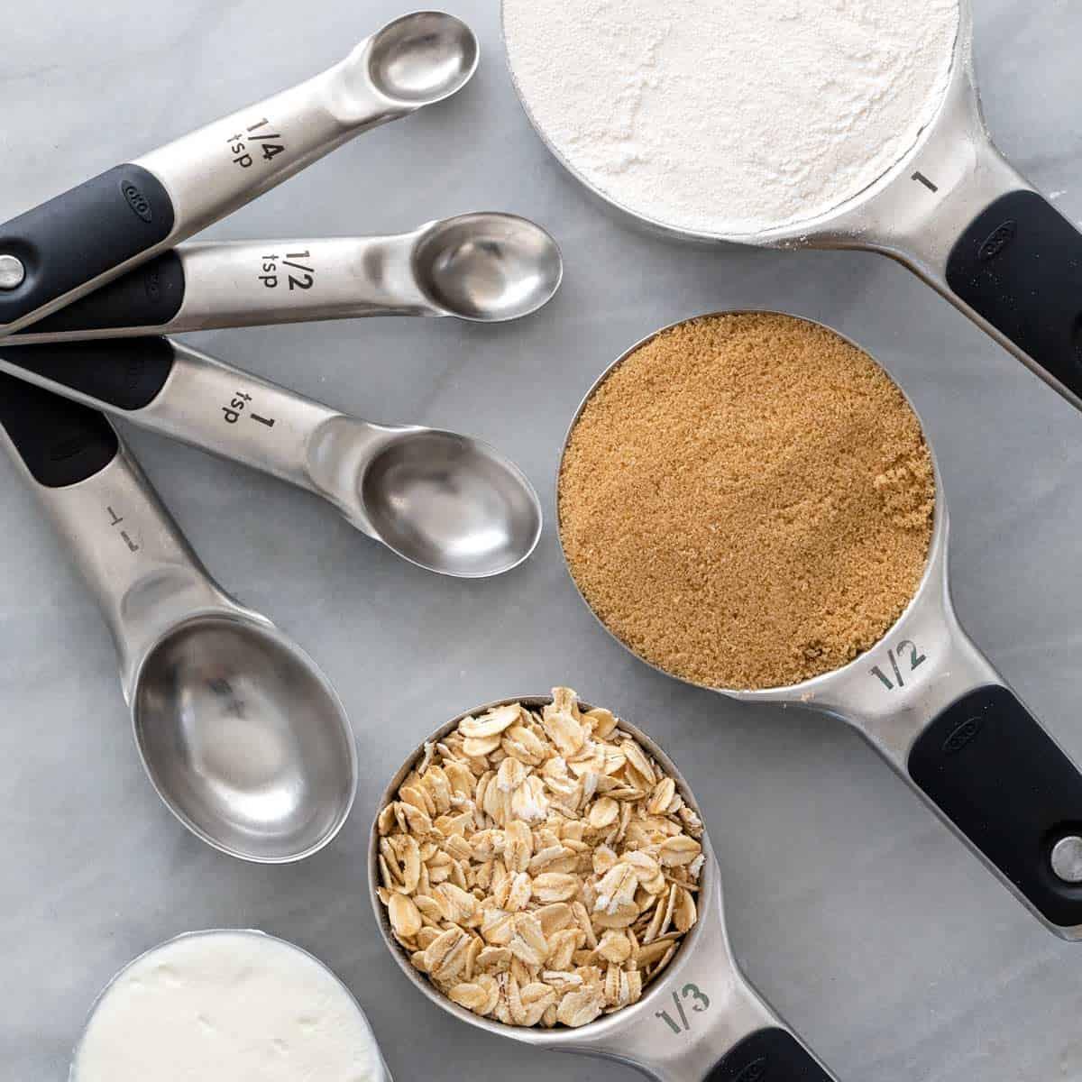 آموزش جدول اندازه گیری پیمانه ها به گرم در شیرینی پزی