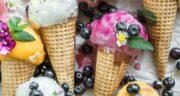 طرز تهیه دو بستنی میوه ای خانگی خوشمزه و حرفه ای بدون ثعلب